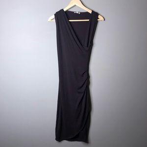 Aritzia Wilfred Free Izidora Dress Purple Xxs